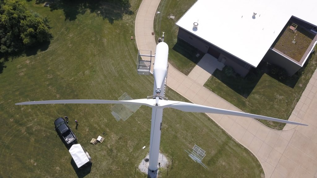 Gaia Wind Turbine Disassembly and Relocation
